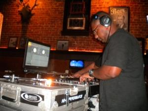 DJing at Zucca Bar